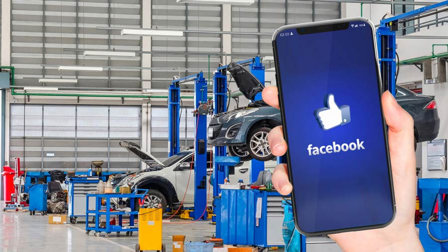 Facebook per la vostra officina