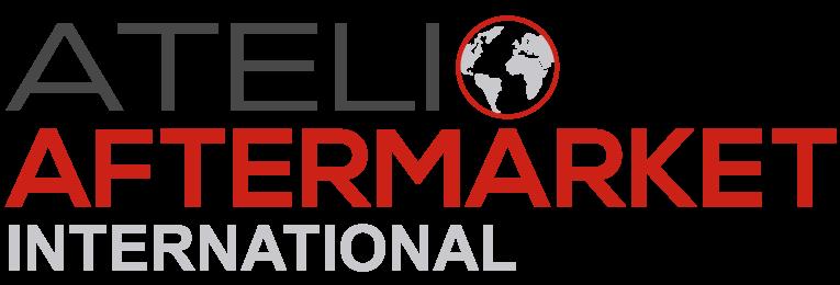 Logótipo catálogo de autopeças Atelio Aftermarket Internacional