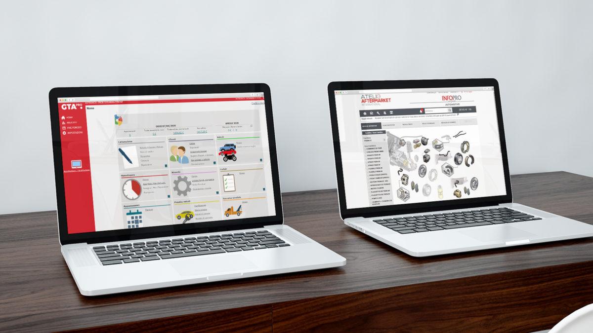 software gestionale e di fatturazione per officine GTA Pro collegamento con catalogo ricambi