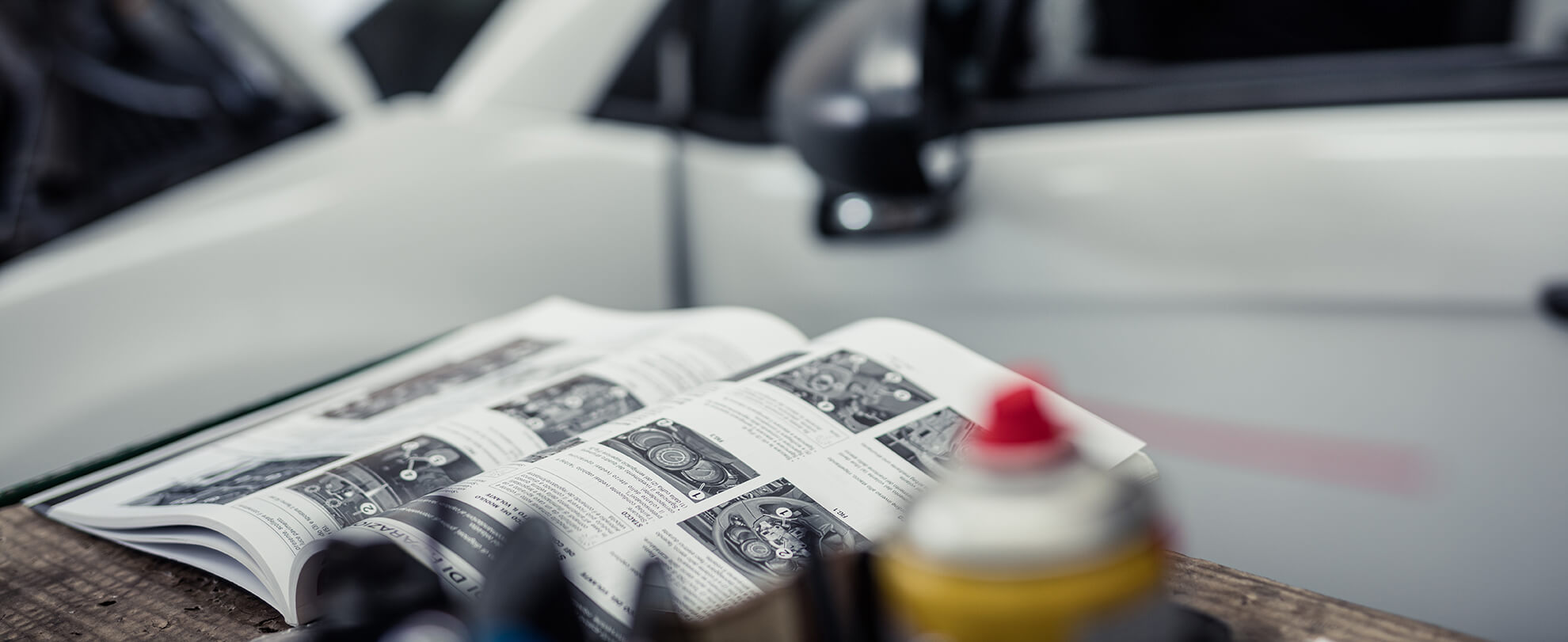 Rivista Tecnica di Riparazione Auto Primo Piano