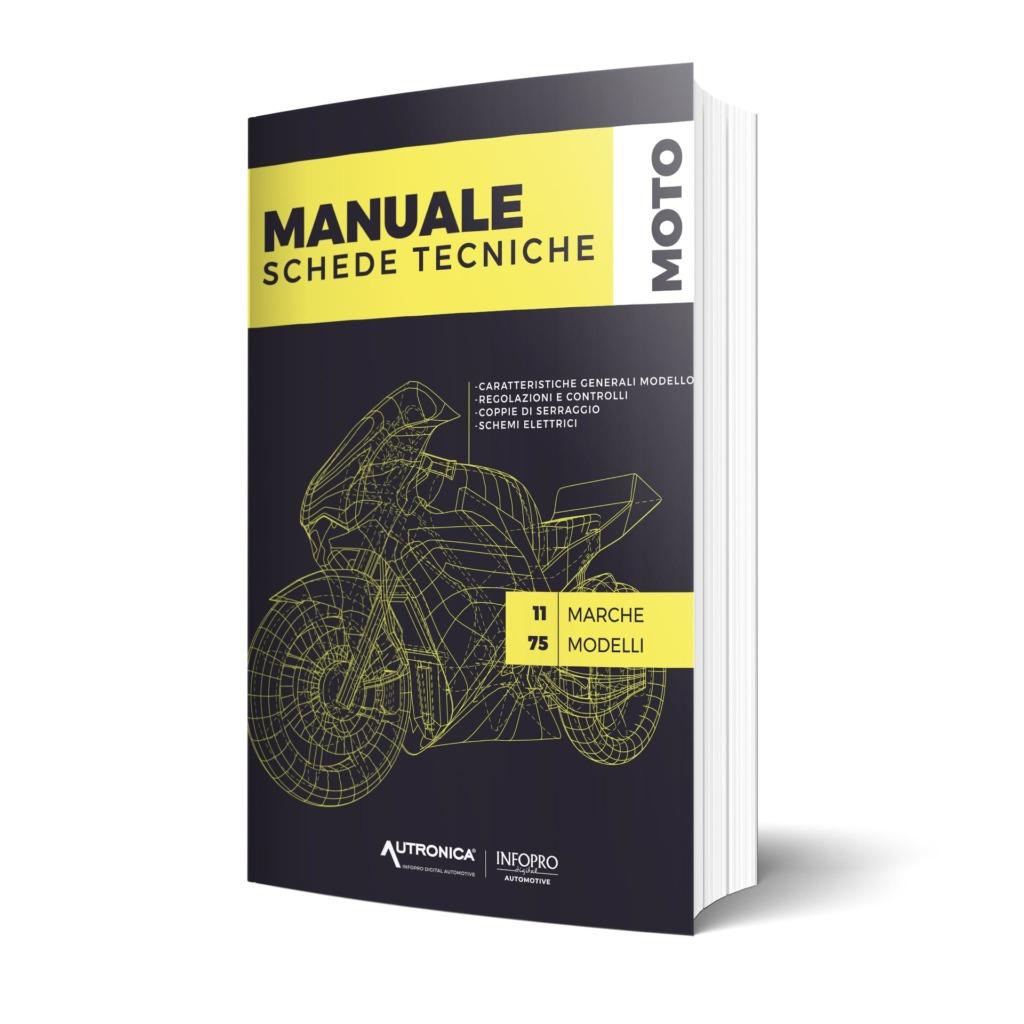 Manuali d'officina, schede tecniche moto