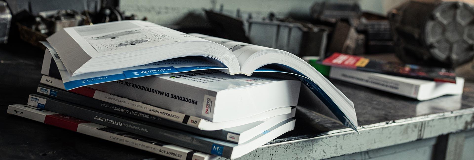 Manuali d'officina per i professionisti della riparazione