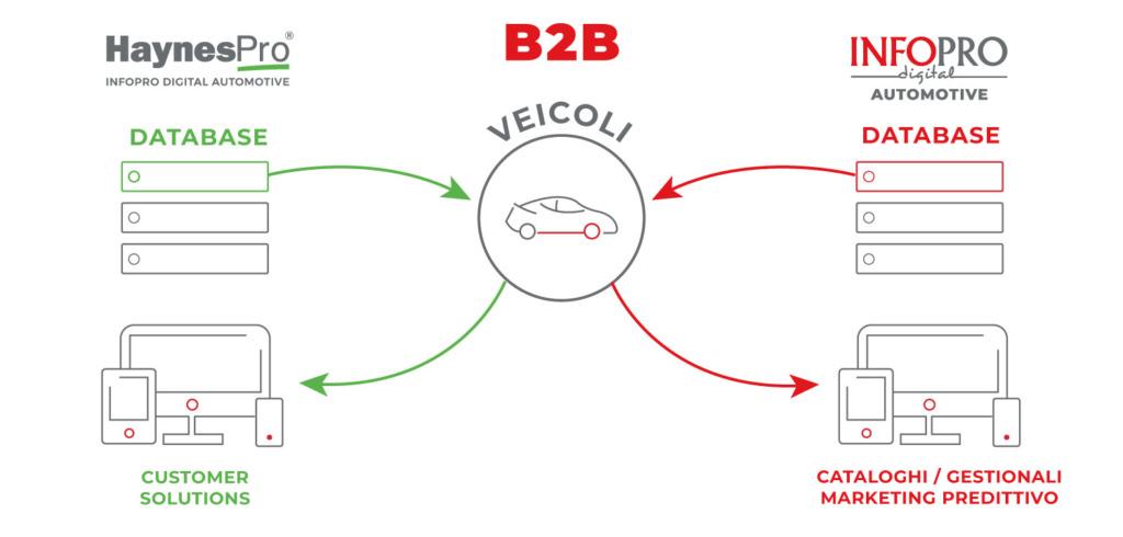data base automotive per creare personalizzazioni b2b